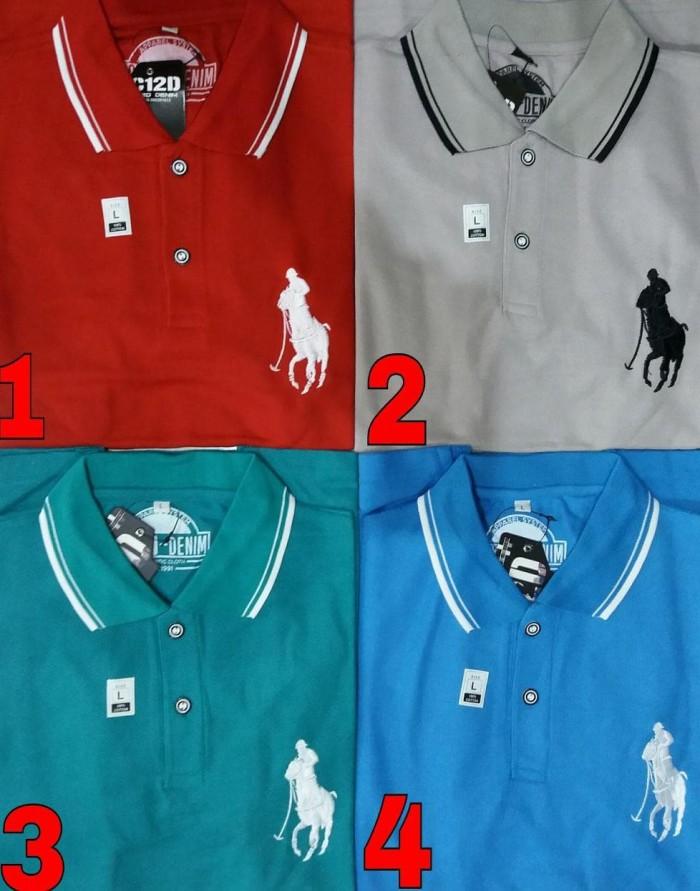 Kaos Distro Pria Kerah Catton David - Baju - Polo Tshirt
