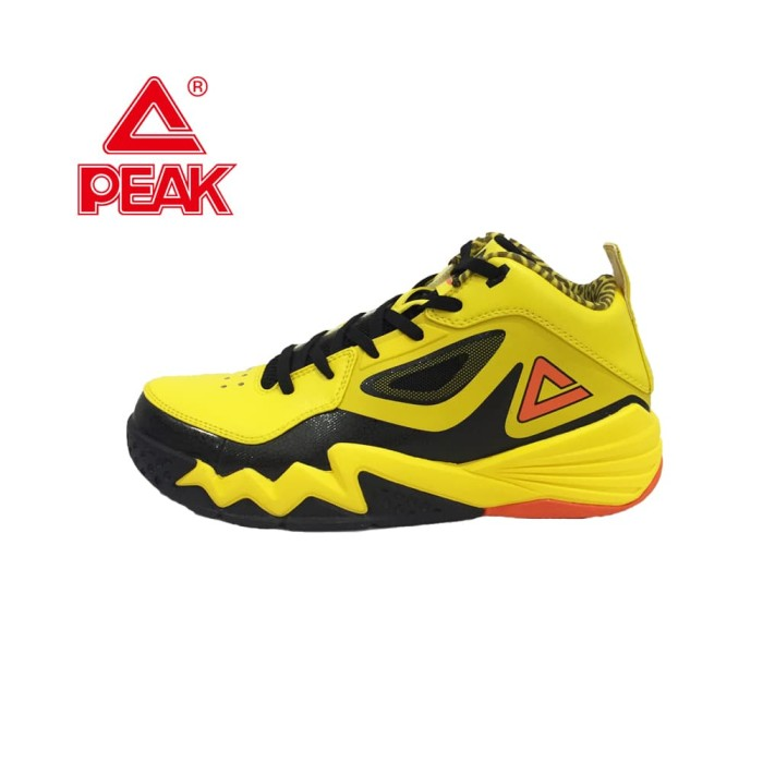 Dijual PEAK Sepatu Basket Monster 2.3 Yellow Black - E51301A Di ... 65783fc6da