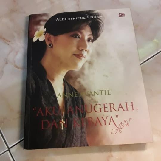 Jual Anne Avantie Aku Anugrah Dari Kebaya Kota Tangerang Ana Buku Shop Tokopedia
