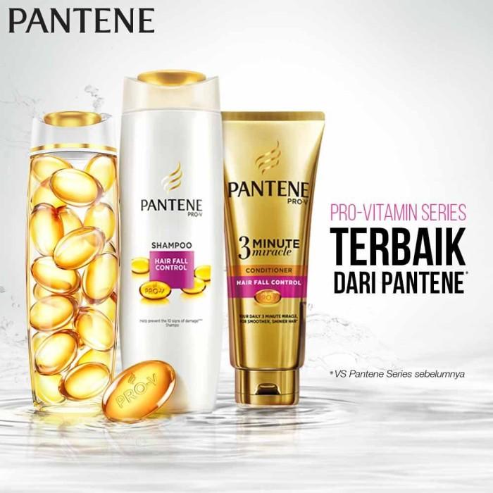 [Promo Terlaris] Pantene Shampoo Hair Fall Control 480ml Paket Isi 3 [