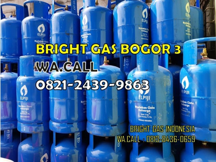 Jual Tabung Gas 12 Kg Elpiji Biru Kosong Jakarta Timur Bright Gas Bogor 3 Bgi Tokopedia