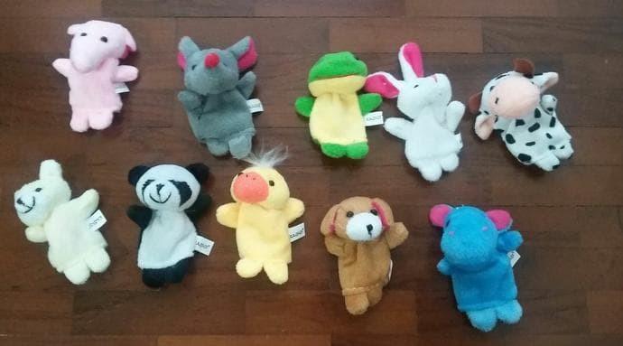 Jual promo!!!!! boneka jari tangan hewan   finger puppet animal isi ... b02f70a3d2