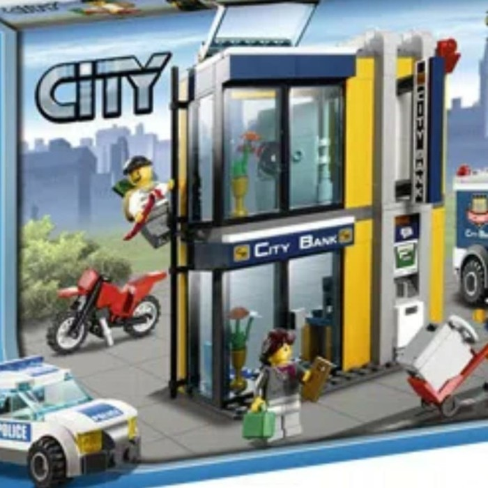 Jual Lego 3661 City Bank And Money Trf Belli Simo Tokopedia