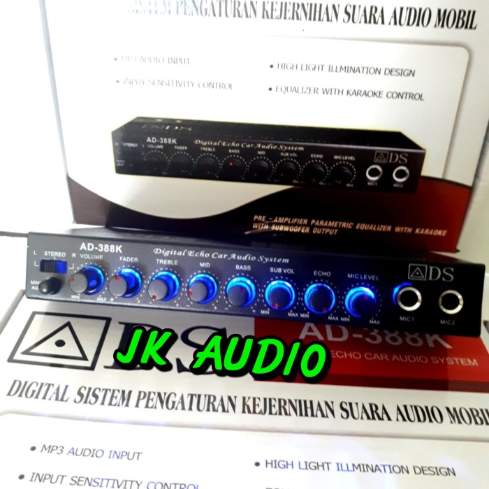 harga Parametrik digital karaoke car audio system Tokopedia.com