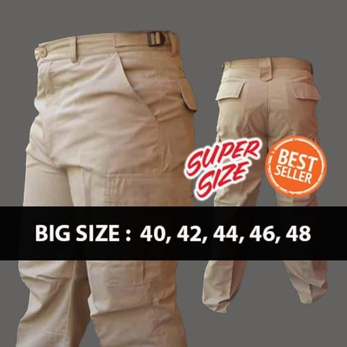 harga Big size celana pdl / celana pria big size ukuran besar Tokopedia.com