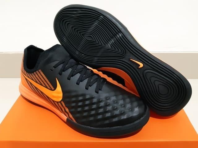Jual Sepatu Futsal Nike Magistax Finale Ii Black Total Orange