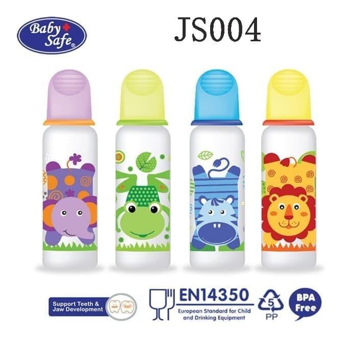 Foto Produk Baby Safe Botol Susu / Feeding Bottle 250 ml JS004 - Blue dari Lolibi