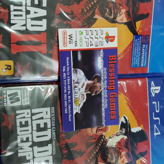 Jual PS4 Read Dead Redemption 2 Murah Bngetzzzz - BLESSING GAME | Tokopedia