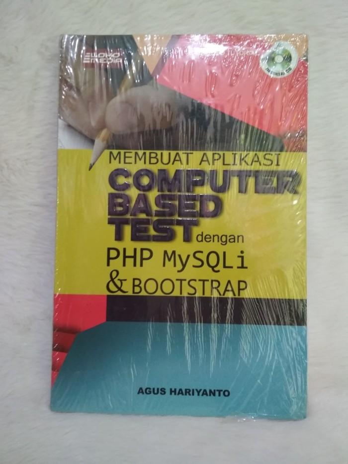 harga Membuat aplikasi computer based test dgn php mysqli & bootstrap lokom Tokopedia.com