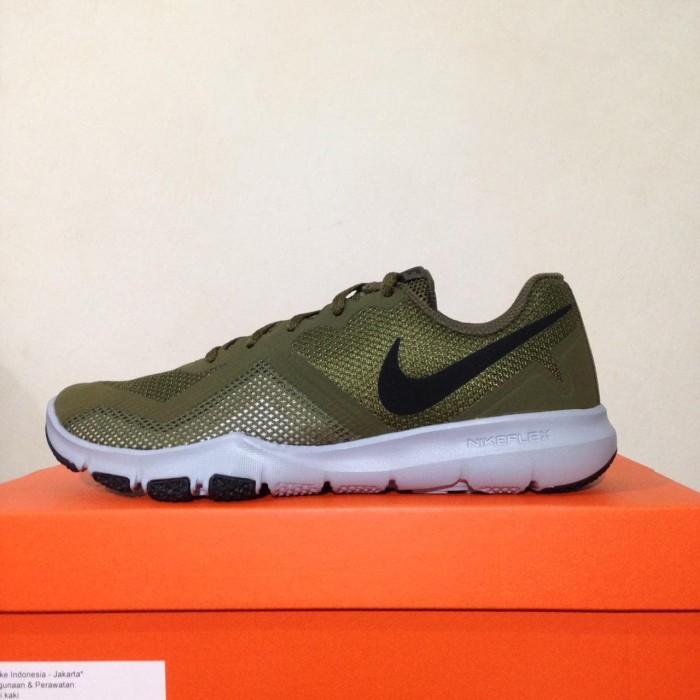 af1f7b6ed518f Jual Sepatu Running Lari Nike Flex Control II Olive Canvas 924204 ...