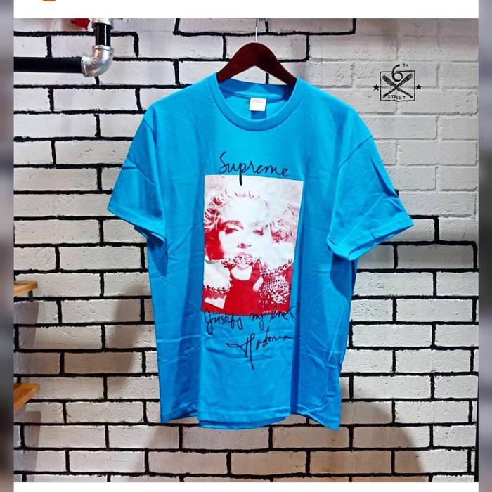 eeb06c904 Jual SUPREME Madonna Tee (Blue Color) - Kota Medan - six6street ...