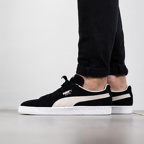 Sepatu Puma Suede Classic Black White Original Made In Indonesia BNIB 4f177396e6