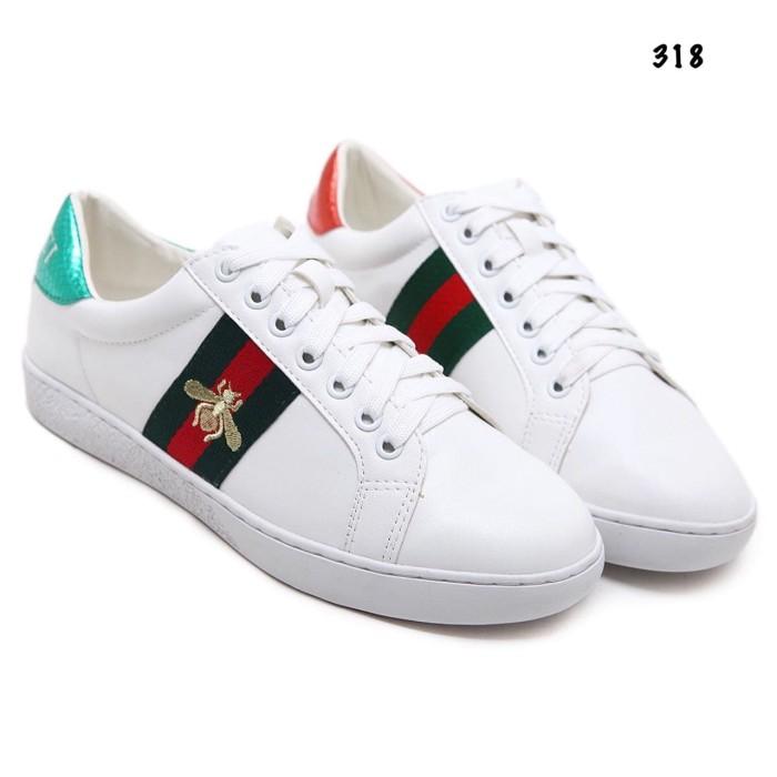 e49fb2e532f Jual Sepatu Import sepatu Wanita sepatu Gucci Ace Bee Sneaker AC 318 ...