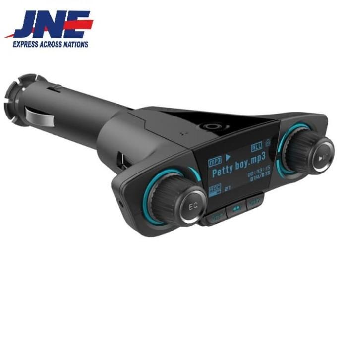 harga Bt06 dual usb car charger handsfree kit bluetooth v4.0 fm-mp3 player Tokopedia.com