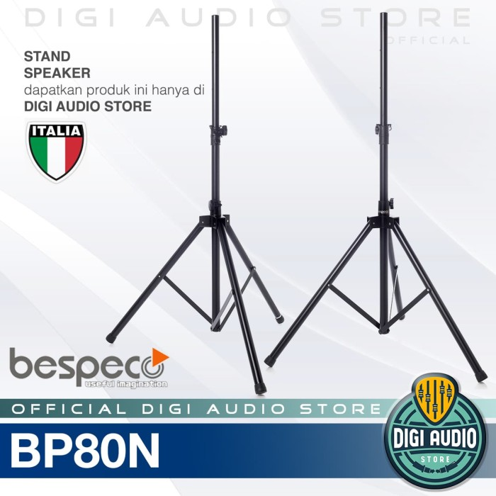 harga Stand tripod speaker bespeco bp80n untuk speaker sound system italy Tokopedia.com