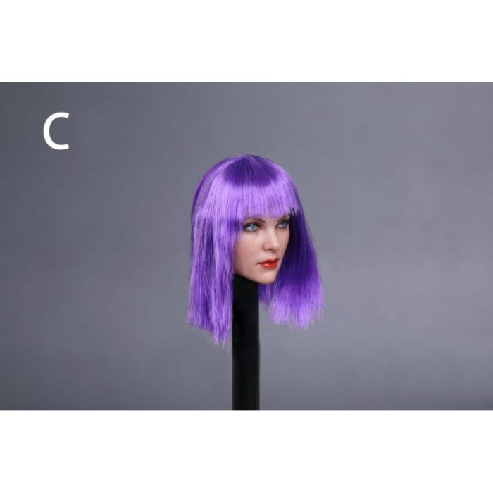 Jual 1 6 European Beauty Female Head Sculpt Carving GC019 7 Styles ... ca6bed00a3a5