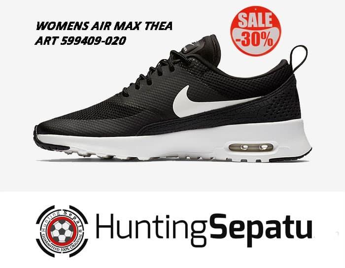 Jual Sepatu Sneakers Womens Nike Air Max Thea Black Original 599409 020 Jakarta Barat Hunting Sepatu   Tokopedia