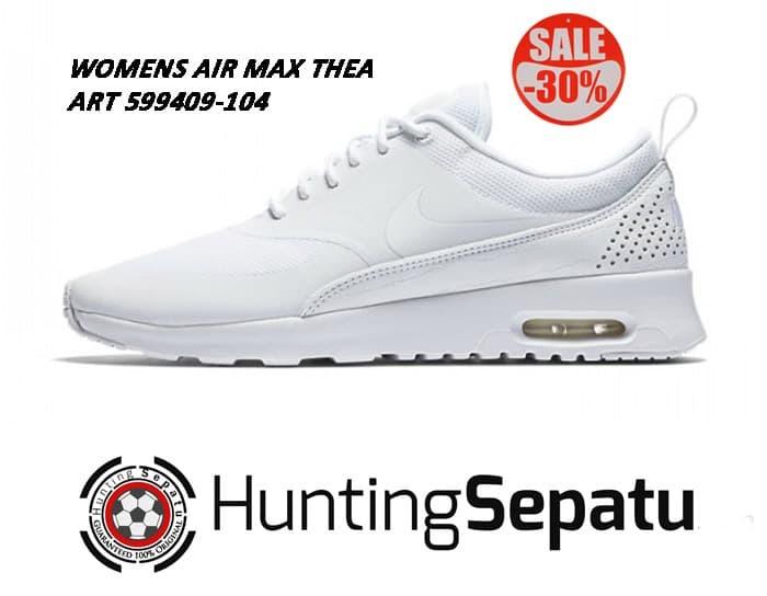 Jual Sepatu Sneakers Women Nike Air Max Thea Full White Original 599409 020 Jakarta Barat Hunting Sepatu | Tokopedia