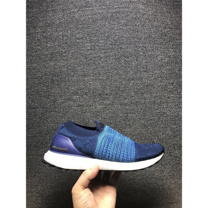 4ef626fea5798 Jual Sepatu Model Adidas Ultra Boost Uncaged Bahan Lace Warna Biru ...