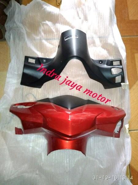 batok kepala depan belakang honda vario 110 LED warna merah marun