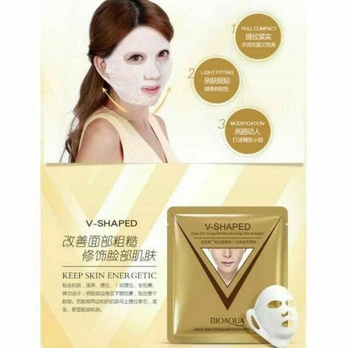 Best Bioaqua V Shaped Masker Muka Tirus V-Shaped