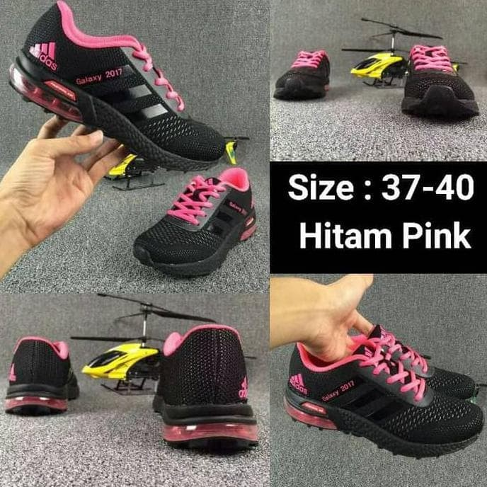 27800dd7596e Jual Sepatu Running Adidas Tabung Galaxy 2017 Cewek Woman Wanita ...