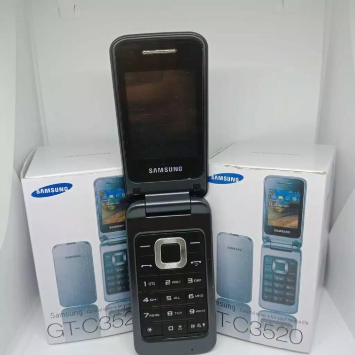 Jual Hp Samsung Lipat Gt C3520 Original New Baru Samsung Flip Gt