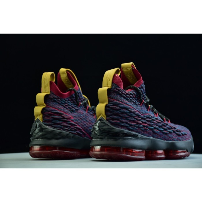 f39296197441d Jual Nike LeBron 15 Men s knitted breathable high-top basketball ...