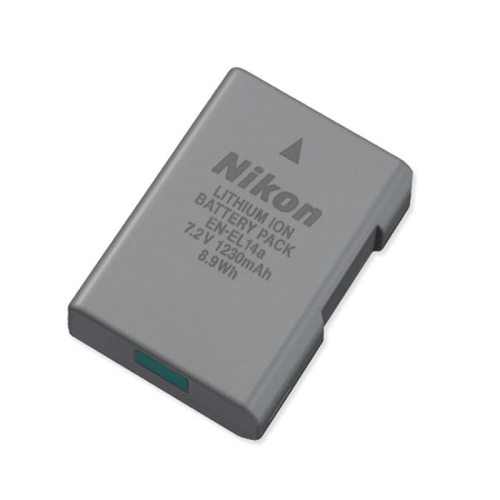 harga Battery nikon en-el14a 7.2v 1230mah Tokopedia.com