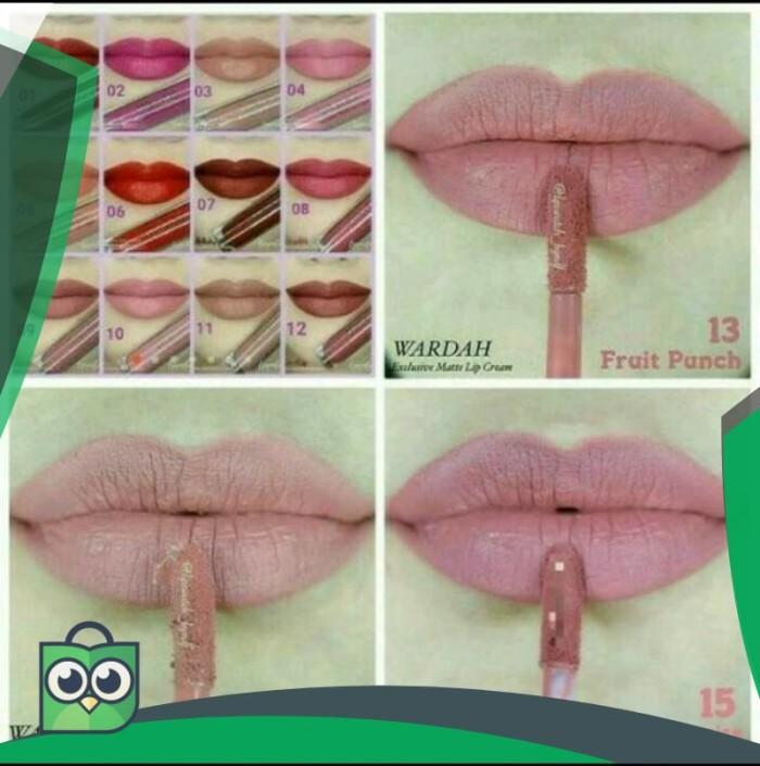 Katalog Wardah Lip Cream Matte DaftarHarga.Pw