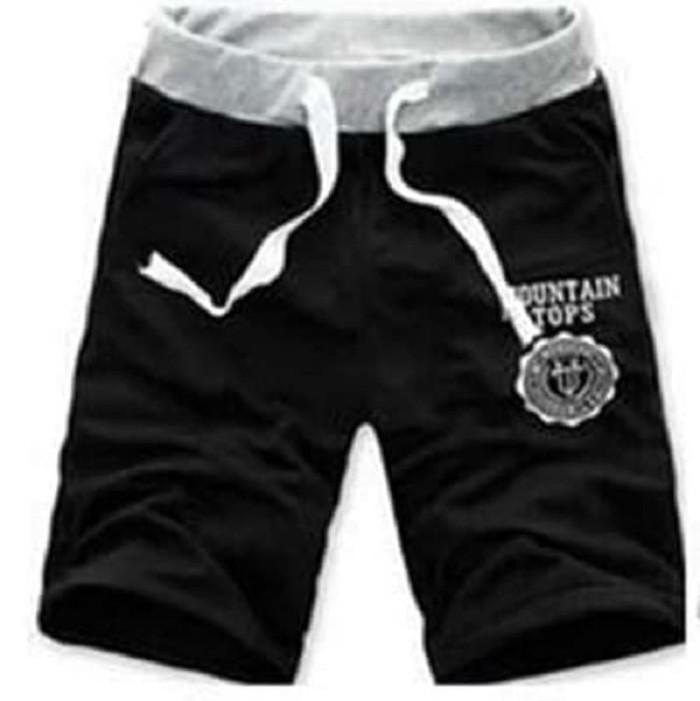 harga Celana pendek hitam laki-laki modis trendy jaman now kekinian terbaru Tokopedia.com