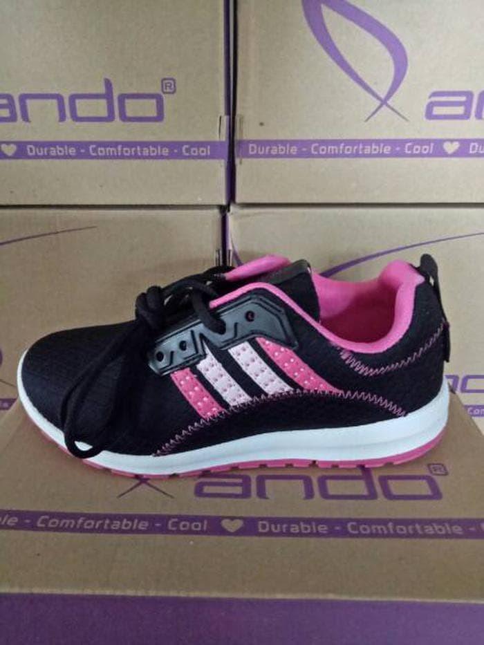 Jual sepatu olahraga wanita dan remaja ORIGINAL ANDO Berkualitas ... 862d04896f