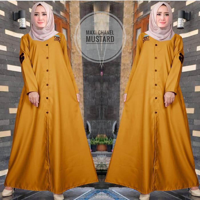 Katalog Muslim Online Z8j8 Maxi Chanel Gamis Maxi Wanita Murah Ctr2 Terbaru F0x2