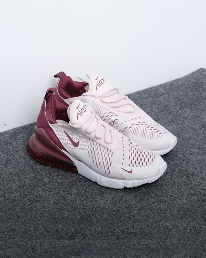 on sale bde9f 35c1e Nike Air Max 270 Barely Rose  Vintage Wine