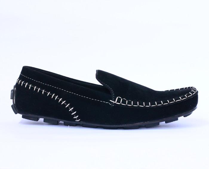 sepatu rajut casual pria kasual slip on compt kickers adidas gucci - Hitam bc5b7d86e9