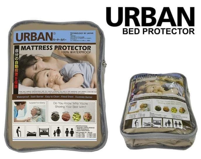 Foto Produk Diskon!! Urban Bed Protector Mattress Single Sprei Waterproof Anti Air dari susilawa shop