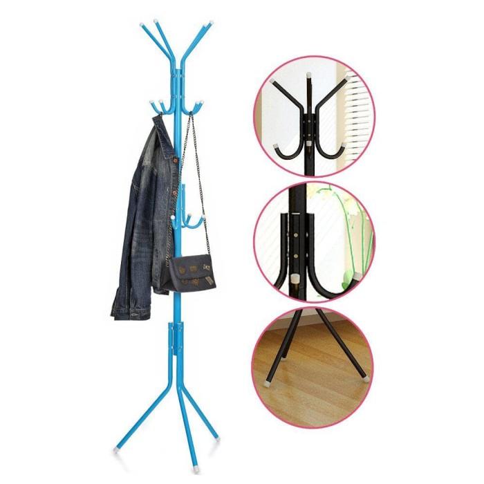 Terlaris Stand Hanger Multifungsi - Gantungan Baju Tiang Berdiri