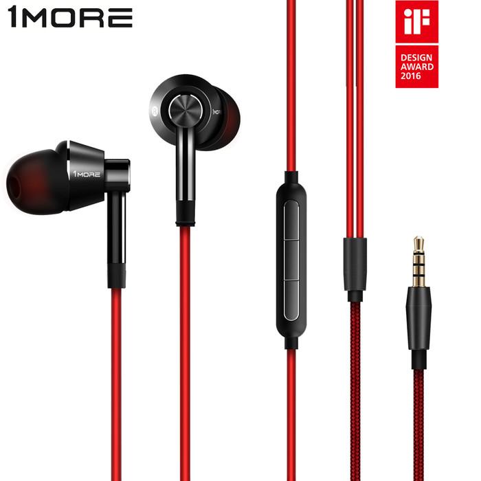 Foto Produk Xiaomi 1MORE Voice of China Edition Piston In-Ear Earphones - 1M301 - emas putih dari 1MORE Official Store
