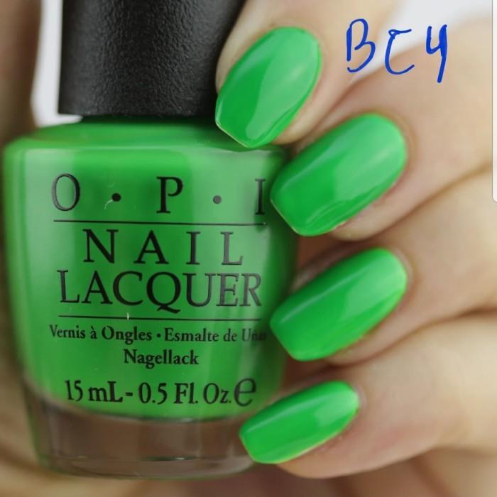 harga Opi lacquer (nail polish) green come true / opi bc4 Tokopedia.com