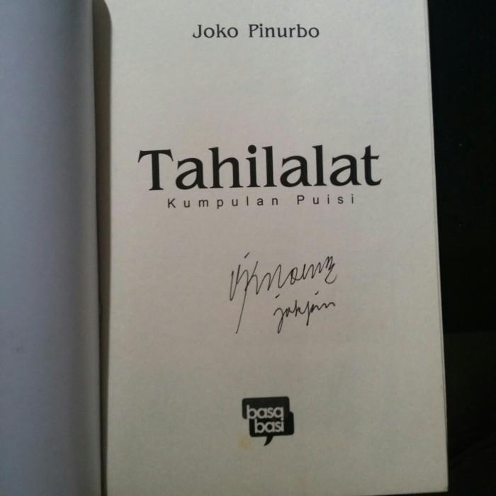 Jual Tahilalat Kumpulan Puisi Joko Pinurbo Agenda Literasi