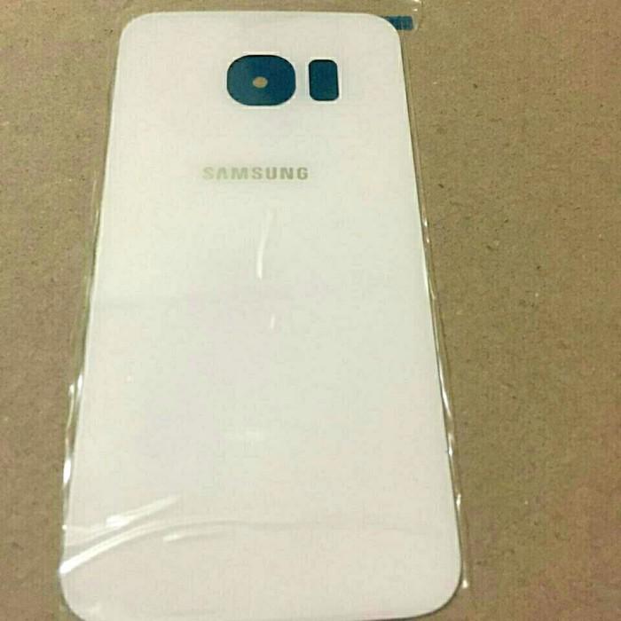 Back Door / Tutup Belakang Samsung Galaxy S6 edge ORIGINAL - Emas