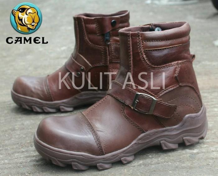 Jual Sepatu Boot Kulit caf0bff3c3
