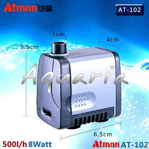 Atman AT-102 Pompa Celup Aquarium Kolam Submersible Water Pump
