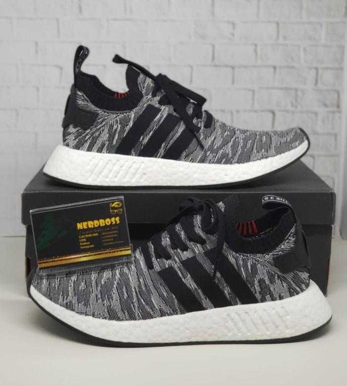 0635080fe Jual Adidas NMD R2 PK Leopard Black Core BNIB 100% Authentic Harga ...