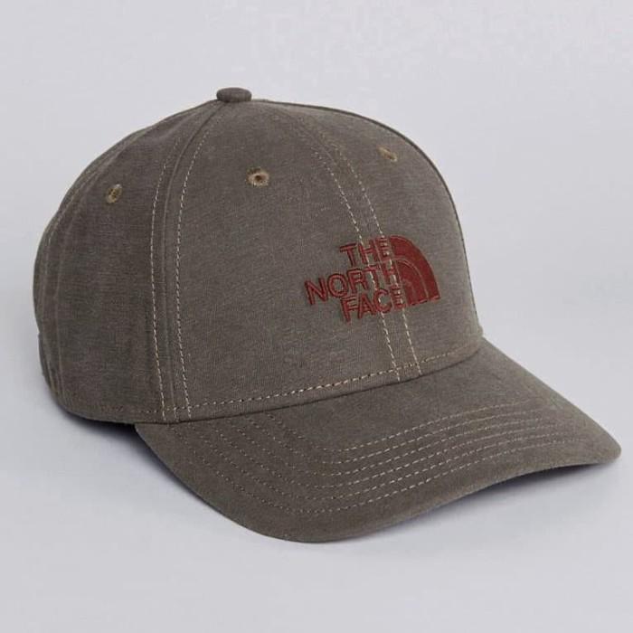 215c6999 Topi The North Face 66 Classic Hat Cap TNF Falcon Brown Original