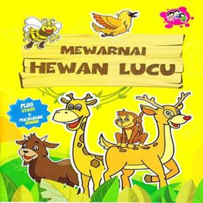 Jual Mewarnai Hewan Lucu Dki Jakarta Jatibooks Tokopedia