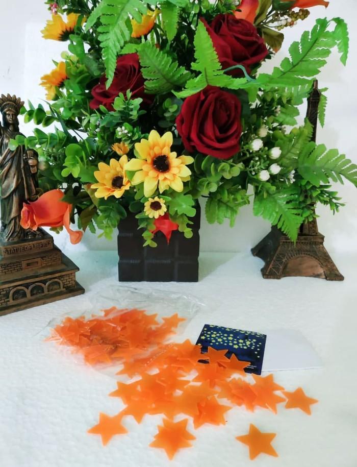 Foto Produk [New Product!!!!] DEKORASI DINDING BINTANG GLOW IN THE DARK - Bintang Oren dari TL Globalindo