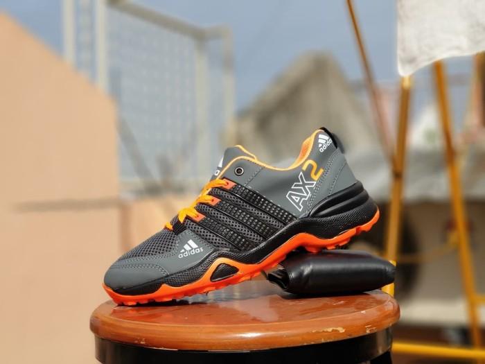 Jual sepatu outdoor adidas AX2 abu orange   sepatu gunung pria ... b6e2052a9d