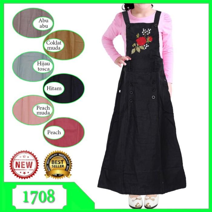 Jual Gamis Overall Anak Dress Jumpsuit Baju Kodok Bahan Katun