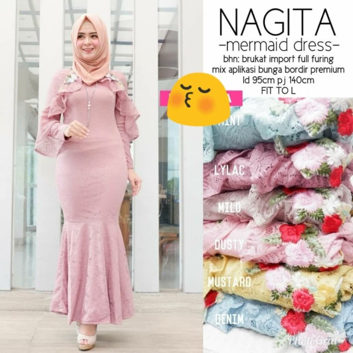 Jual NAGITA MERMAID DRESS  DRESS BRUKAT   DRESS DUYUNG   DRESS SEXY ... 39af6faaa3